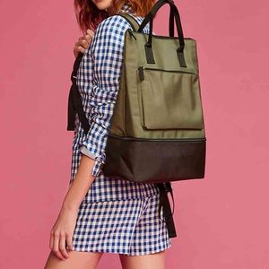 DSW backpack with shoe compartment